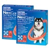 NexGard Spectra Chewables For Very Large Dogs Red 30.1-60kg 12 Pack
