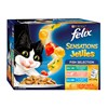 Felix 12 x 85g Sensations in Jelly Fish Selection Wet Cat Food