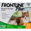 Frontline Plus for Cats 8 Week or Older - 12 Pipettes