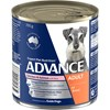 Advance Adult Chicken Salmon And Rice Wet Dog Food Cans 12 x 700g