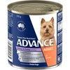 Advance Adult Chicken Turkey And Rice Wet Dog Food Cans 12 x 410g