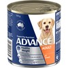Advance Adult Weight Control Chicken And Rice Wet Dog Food Cans 12 x 700g