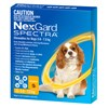 Nexgard Spectra Small Dog 3 pack
