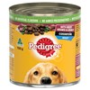 Pedigree Adult Wet Dog Food Beef Vegies Gravy Casserole 12 x 1.2kg