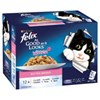 Felix As Good As It Looks Kitten Menu Wet Cat Food 12x85g