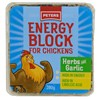 Peters Energy Block w/ Herbs & Garlic Energy Supplement for Chickens 6 x 280g