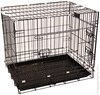 Pet One Collapsible Crate Black Small