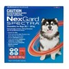 Nexgard Spectra Red Extra Large Dog 3 Pack Extra Large 30.1-60kgs (66-132llbs)