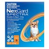 Nexgard Spectra Very Small Dogs (2-3.5kg) Orange 6 Pack